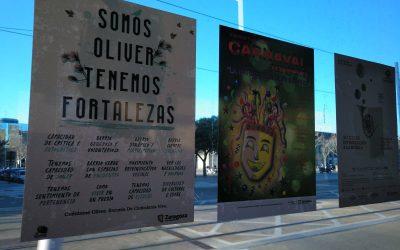 ¡Las Fortalezas de Oliver visibles en el barrio y toda Zaragoza!