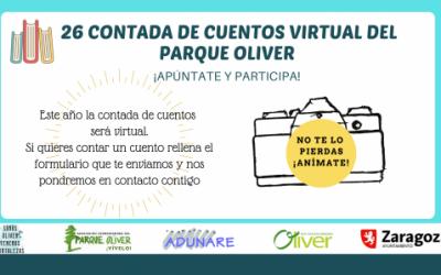 Propuesta de acción colectiva desde el GAC Intergeneracional junto a la Asociación Coordinadora del Parque Oliver: Contada de Cuentos Virtual