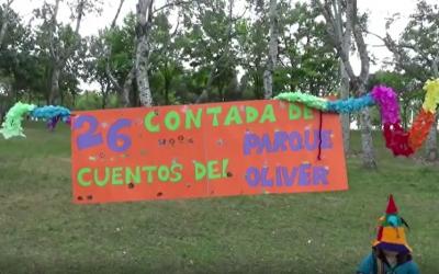 LA XXVI CONTADA DE CUENTOS PARQUE OLIVER, ESTE AÑO VIRTUAL