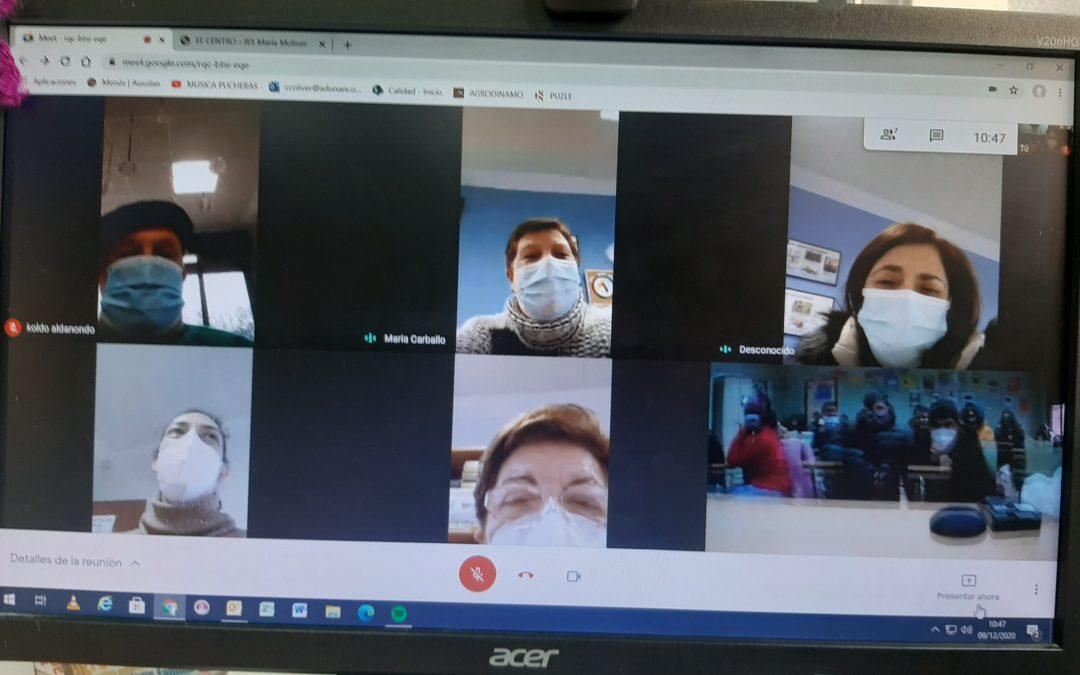 Encuentro virtual intergeneracional
